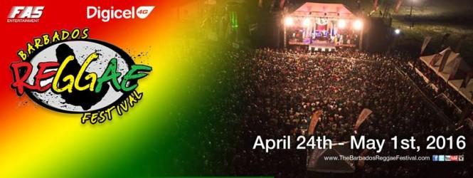 Digicel Barbados Reggae Festival 2016